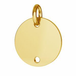 Okrągła blaszka (łącznik) - BL 2 - 10 MM / 0,33