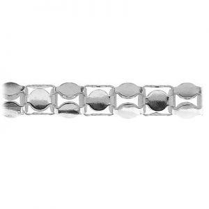 Łańcuszek metraż - typu Coreana*srebro AG 925*CORP 1,4 mm