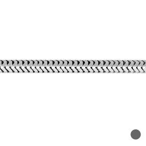 Łańcuszek metraż - typu ogon węża*srebro AG 925*CSTD 1,4 mm