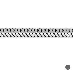 Łańcuszek metraż - typu ogon węża*srebro AG 925*CSTD 1,6 mm