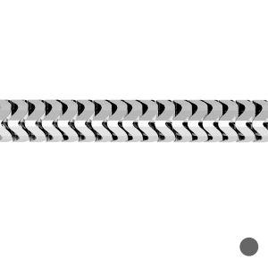 Łańcuszek metraż - typu ogon węża*srebro AG 925*CSTD 2,4 mm