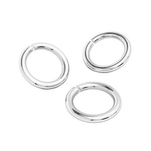 Kółko cięte*srebro AG 925*KC 1x6 mm
