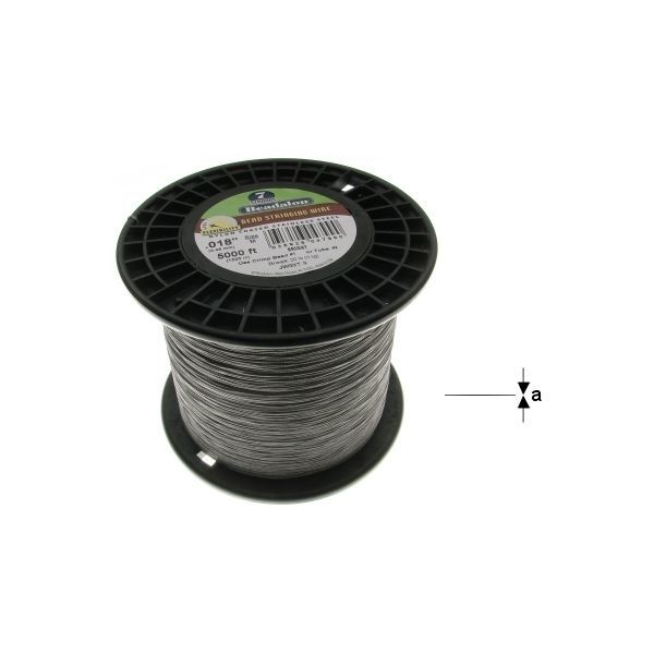"7STRD WIRE .018"" BRIGHT 5000' (0.46 mm, 1525 m)"