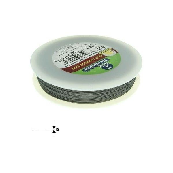 7STRD WIRE .018 BRIGHT 1000 (0.46 mm, 305 m)