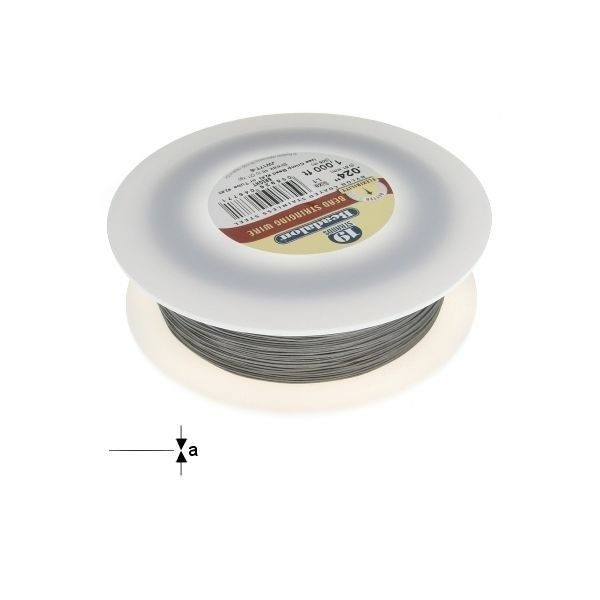"19STRD WIRE .024"" BRIGHT 1000' (0.61 mm, 305 m)"
