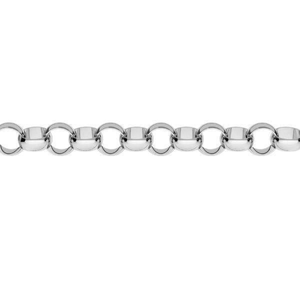 Łańcuszek metraż - typu Rolo*srebro AG 925*ROLO 035 1x2,1 mm