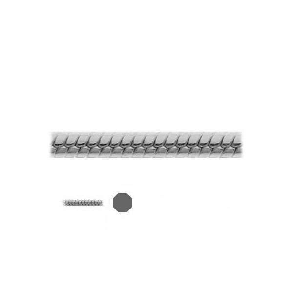 Łańcuszek metraż - typu Snake*srebro AG 925*SN 020 DC8L 0,9 mm