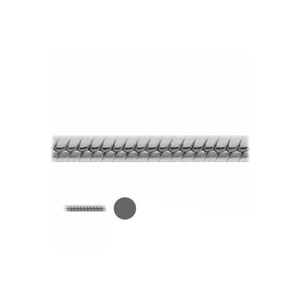 Łańcuszek metraż - typu Snake*srebro AG 925*SN 025 1,05 mm