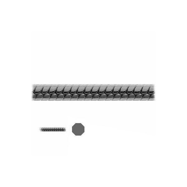 Łańcuszek metraż - typu Snake*srebro AG 925*SN 030 DC8L 1,2 mm