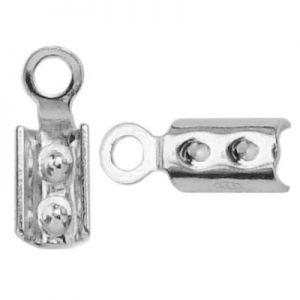 Zapięcie zaciskowe*srebro AG 925*TZ 2 mm