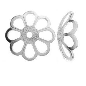 WKA  8,0 - Przekładka połówka kwiatek, srebro 925