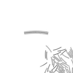 Rurka gięta*srebro AG 925*RURL M 1,5x10 mm