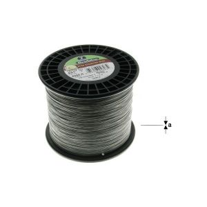 "7STRD WIRE .024"" BLACK 5000' (0.61 mm, 1525 m)"
