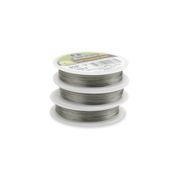 7STRD WIRE .018 BRIGHT 30 (0.46 mm, 9.2 m)