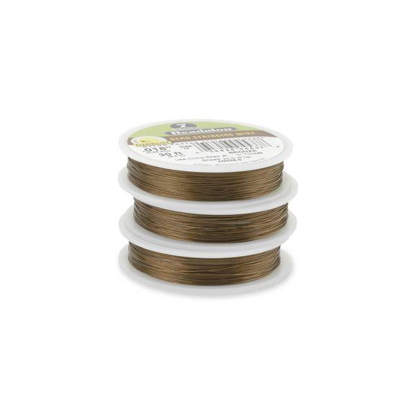 7STRD WIRE .018 BRONZE 30 (0.46 mm, 9.2 m)