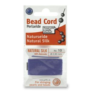 SILKTHREAD 10 - BLUE (0.90 mm, 2.0 m)