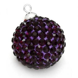 DISCOBALL AMETHYST 20 MM