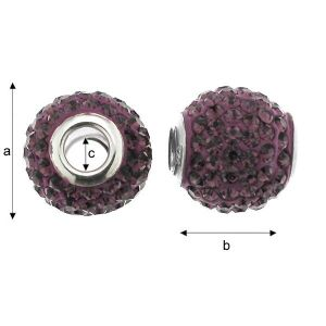 ModuleBALL AMETHYST 12 MM