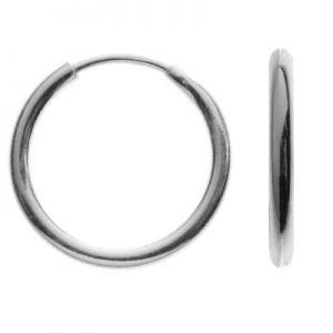Kolczyk koło*srebro AG 925*KL-07 1,1x9,0 mm
