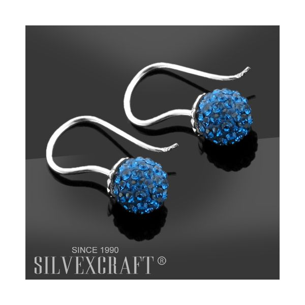 DISCOBALL 1 HOLE CAPRI BLUE 6 MM