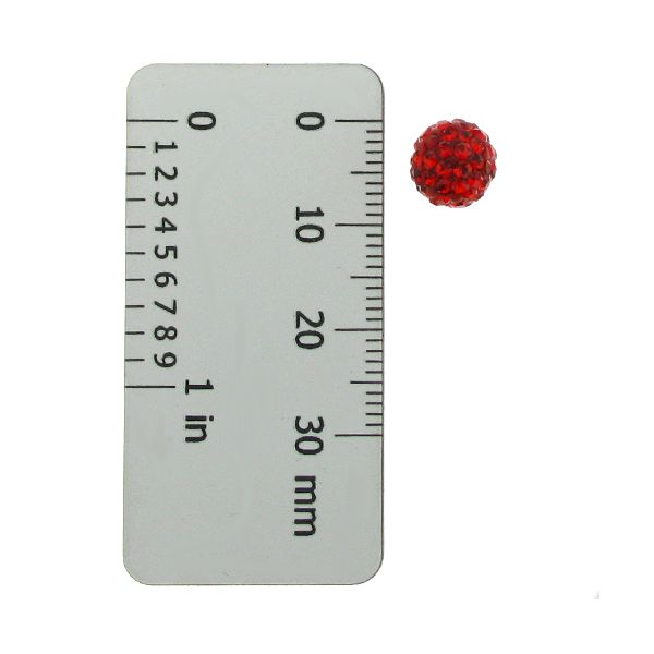 DISCOBALL BEAD JET 8 MM