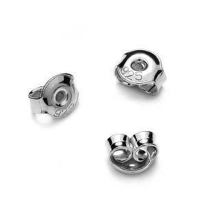 Zapięcie do kolczyków - typu baranek*srebro AG 925*BAR 2 4,5 mm