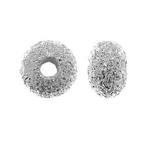 Przekładka - oponka gwiezdny pył*srebro AG 925*UFD 0,9x3 mm