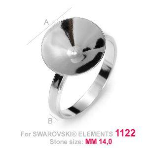 Baza do pierścionków Rivoli - OKSV 1122 14MM S-RING