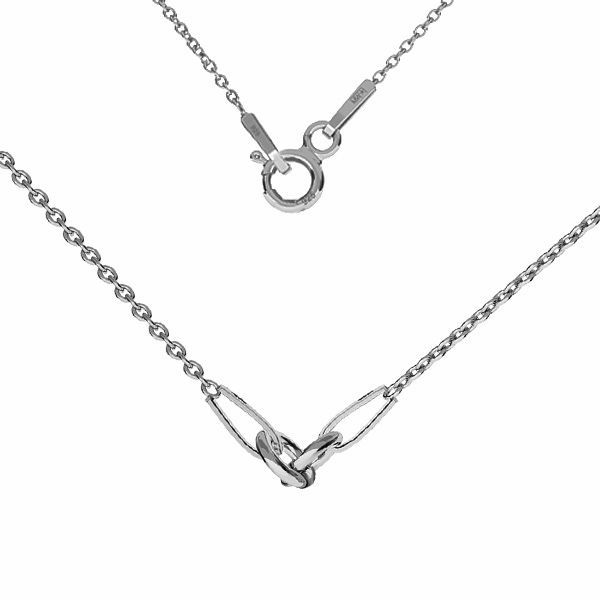 Baza do naszyjników, celebrytek, srebro 925, S-CHAIN 2 (A 030) - 41 cm