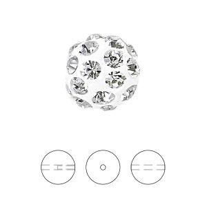 Białay Discoball 8 mm przelotowy otwór, 86001 8MM 01 001