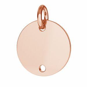 Okrągła blaszka (łącznik) - BL 2 - 12 MM / 0,40