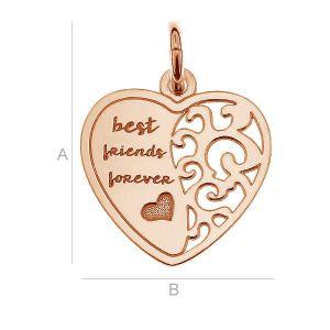 LK-0401 - Serce dla przyjaciela