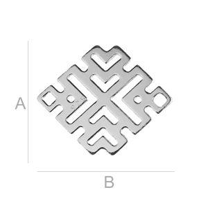 Ażurowy romb - BL-0188 (0,40 mm)