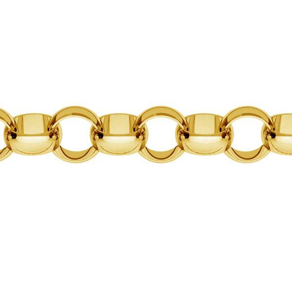 Łańcuszek metraż - typu Rolo*srebro AG 925*ROLO 055 ver.3,30