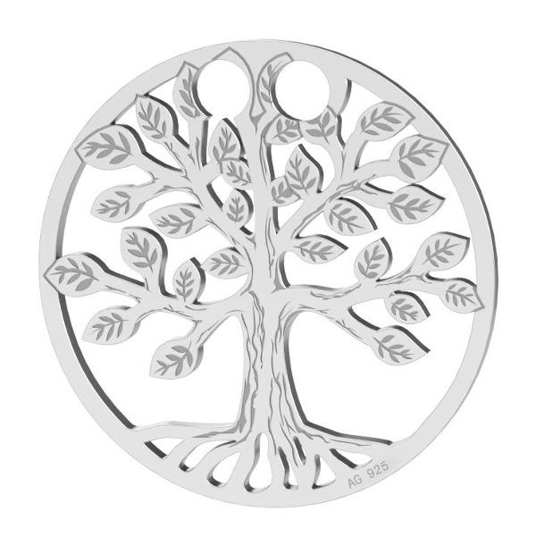 Drzewo życia zawieszka, ze srebra 925, LK-0450 - 0,50