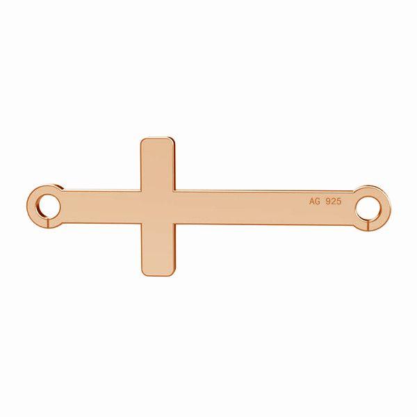 Zawieszka krzyżyk poziomy, srebro 925, LK-0524 - 0,50