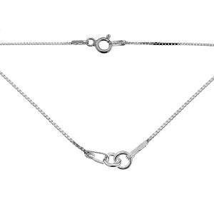 Baza łańcuszkowa typu Kostka 2-elementowa*srebro AG 925*KV 015 4L CHAIN 3 41 cm