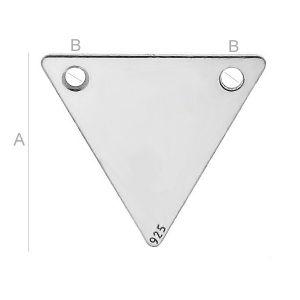 Zawieszka trójkąt - LK-0581