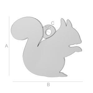 Wiewiórka zawieszka, LK-0 - 0,50