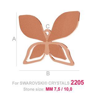 Motyl zawieszka (2205) - LK- B