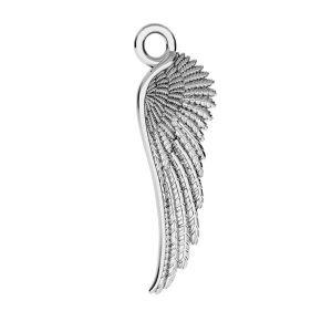 Zawieszka - skrzydło anioła*srebro AG 925*ODL-00162 6,5x21 mm