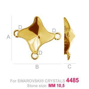 Kaboszon łącznik Twister fancy - OKSV 4485 MM 10,5 - CON 3 ver.B