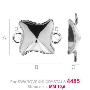 Kaboszon łącznik Twister fancy - OKSV 4485 MM 10,5 - CON 2 ver.A