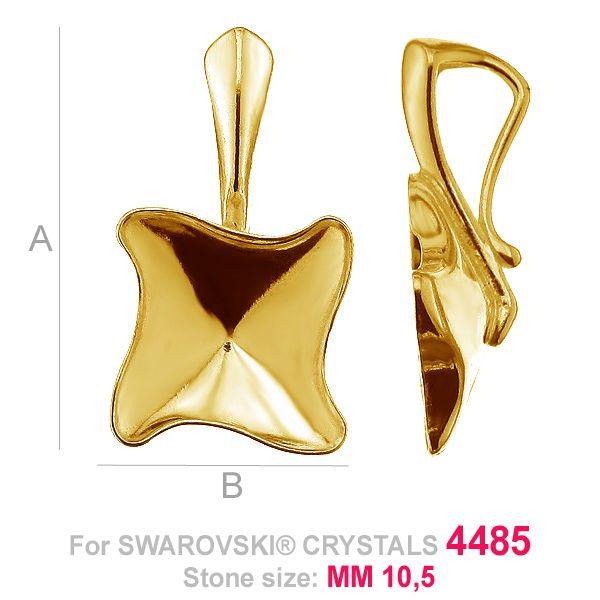 Kaboszon z krawatem Twister fancy - OKSV 4485 MM 10,5 - KRP ver.A