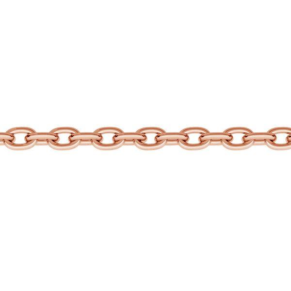 Łańcuszek metraż - typu Ankier*srebro AG 925*A 030 1 mm