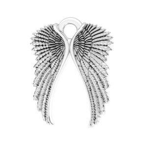 Zawieszka - skrzydła*srebro AG 925*ODL-00228 10,5x14 mm
