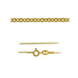 Anker złoty łańcuszek do celebrytek 14K - A 030 AU 585 (40-60 cm)