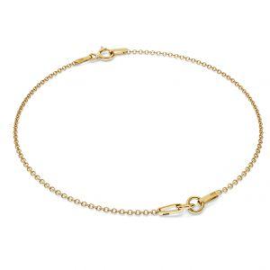 Złota bransoletka baza S-BRACELET 1 - (7+7 cm) AU 585 14K
