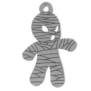 Mumia halloween zawieszka, LK-1018 - 0,50