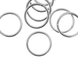 Kółko zlutowane*srebro AG 925*KCZ 1,5x12,5 mm
